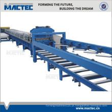 Plataforma de piso de aço high-end que dá forma à máquina para o edifício estrutural do metal