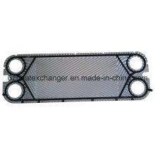 Placa de repuesto y junta para el intercambiador de calor Vicarb V4, V13, V20, V28, V45