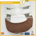 New arrival high quality very soft baby handmade baby leather sandals wholesale