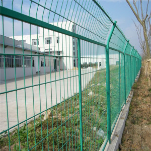 Galvanized Welded Wire Mesh Panel Garden Pagar