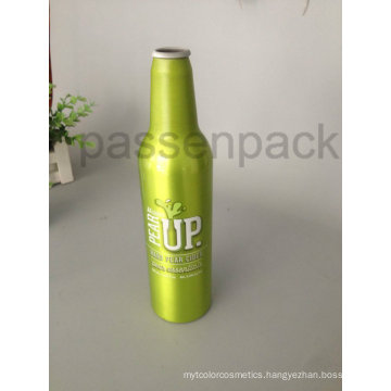 500ml Aluminum Beer Bottle with 4color Heat Transfer Printing (PPC-ABB-01)