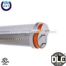 Levou luminária tubo 120lm / w t8 18w 4 pés DLC UL levou luminária de tubo