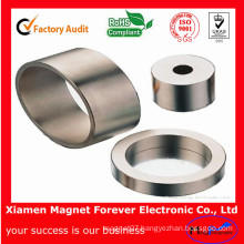 Permanent Strong Sintered Neodymium Ring Magnet