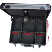 Caixa de ferramentas Multipurpose customizável da liga de alumínio (450 * 330 * 145mm)