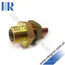 Hydraulische metrische männliche O-Ring-Schottwand mit Kontermutter (6E-LN)