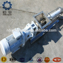 Stainless steel centrifugal hopper screw pump for hot concentrated tomato