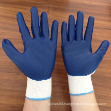 latex foam coated nylon working gloves