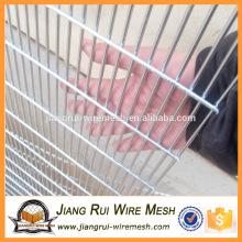 China fornecedor PVC revestido 358 cerca de alta segurança / PVC revestido de malha de arame soldado