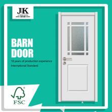 JHK-G35 Custom French Closet Wooden Glass Door