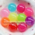 Christmas Tree 18mm Hair Round Bubble Tiny beads