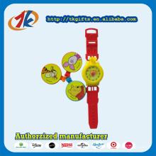 Горячий продавать Пластиковые детские часы игрушка с крышками