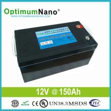 Deep Cycle 12V 150ah LiFePO4 Solar Battery