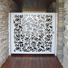Laser Cut Steel Panel Door