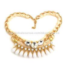 Fashion necklaces, 2014, anti-allergic