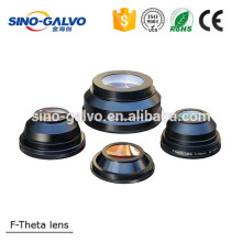 China CO2 optical lens F theta lens Znse material Dia 50.8mm
