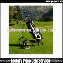 2016 new remote control stainless steel golf buggy