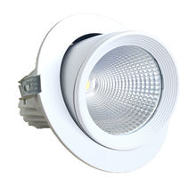 Lifud Driver Bridgelux Chipset 25W orientável LED Down Light