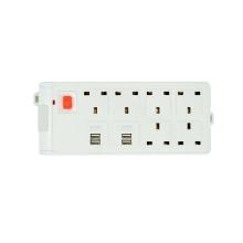 6 outlet power 4 usb UK extension socket