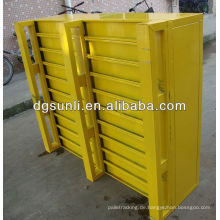 Standardpalette Euro Arten Farbe Stahl Schwerlast