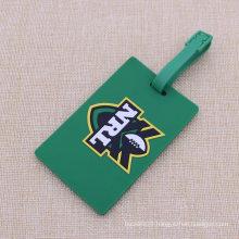 OEM Color 2D Soft PVC Luggage Tag Wholesale