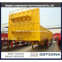 High Quality 3 Axle Side Wall Semi Trailer Cargo Trailers