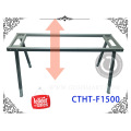 korean style furniture table office workstations manual lifting desk frame