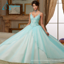 Sequined Beading Crystal Quinceanera Dresses Little Girls