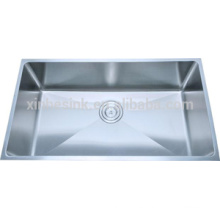 Cupc 304 stainless steel handmade single bowl sink for kitchen
