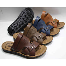 Hot Sale Classic Men Beach Sandal with PU Outsole (SNB-12-012)