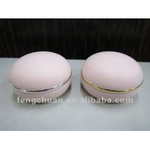 Frascos cosméticos por atacado pp 150g 100g 50g Cuidados com a pele Embalagem Forma redonda