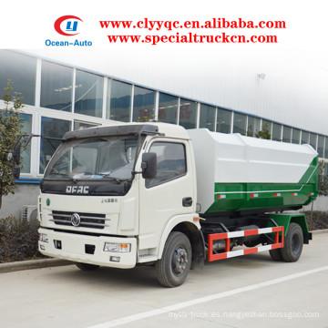 Dongfeng duolika camión de basura sellado