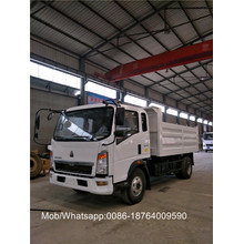 4500mm Wheelbase 4x2 8T Truck Dump