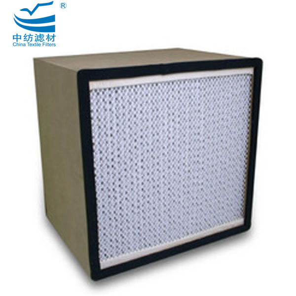 95% Efficiëntie Deep Plated Rigid Box Filters