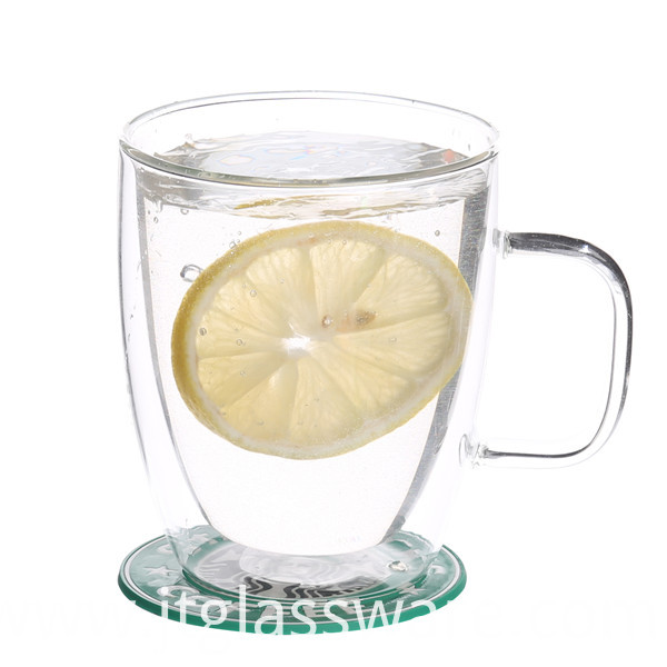 Glass Beverage Cup