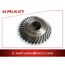 Kundenspezifische Stahl-CNC-Bearbeitung Kegelradgetriebe
