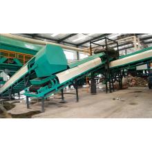 Tri automatique en plastique de tri de machine triant la ligne municipale de tri de déchets solides pour trier des déchets avec la CE OIN