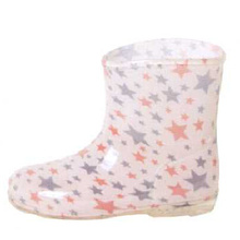 Colored Star Lining Baby's Rain Boots