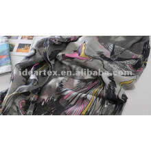 customize-made design Printed Chiffon For Scarf and Lady Dress