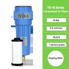 Filtros de ar de poeira YD-B058 para secador de adsorção