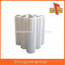 China wholesale high quality soft plastic lldpe/hdpe PE shrink film wrap for external packing