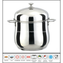 Deep Soup Pot with Dome Cover