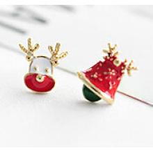 Рождественские украшения/Рождественские серьги/Рождественский олень (XER13355)