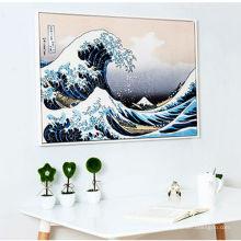 Pintura da onda do mar