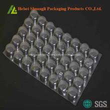 Plastic blister packaging for medications