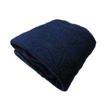 Cozy Fleece Alta Luxury Hotel Cobertor de lã, Rainha, Marinha