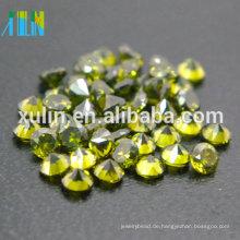 grüne Farbe cz Edelstein China Zirkonia