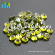 green color cz gemstone china cubic zirconia