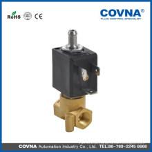 COVNA 5515-07 micro válvula de solenóide de latão de 3 vias