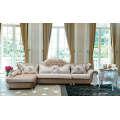 Europa estilo tela sofá, sofá clásico tela nueva (316)