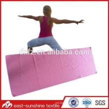 beautiful yoga towel,gym towel with logo,soft microfiber yoga towel